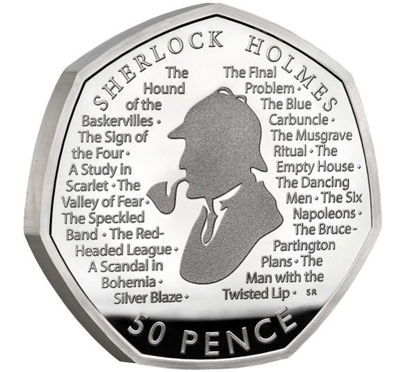 Previous commemorative 50 pence pieces have entered general