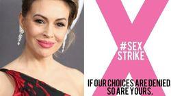 Alyssa Milano lancia lo sciopero del sesso contro la legge anti-aborto della
