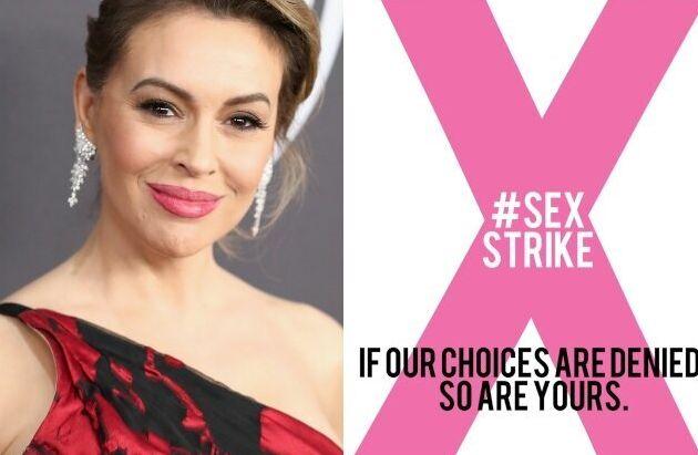 Alyssa Milano lancia sciopero del sesso contro legge