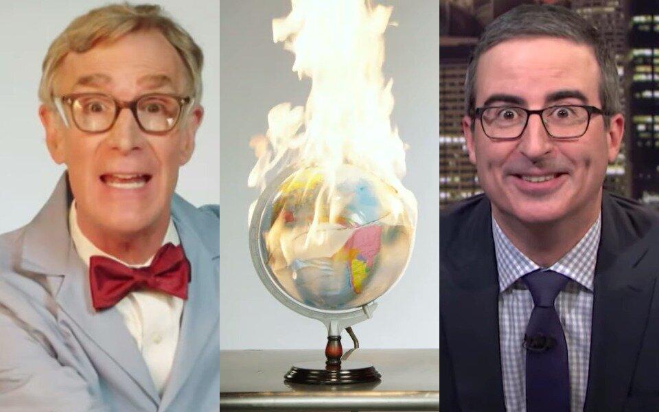 Bill Nye, John Oliver