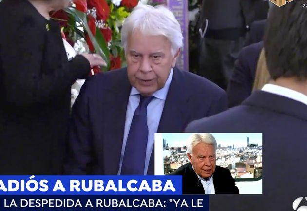 En Vida El Reproche De Felipe González Al Recordar En