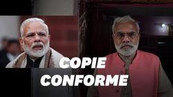 Ce sosie du premier ministre indien se présente contre