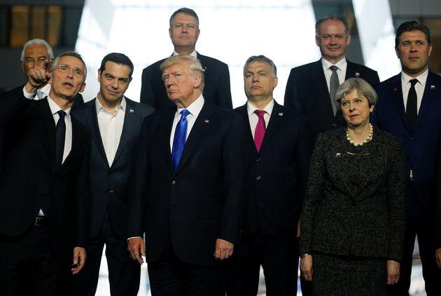 O Τραμπ του «Πρώτα η Αμερική» συναντά τον Όρμπαν του «Πρώτα η