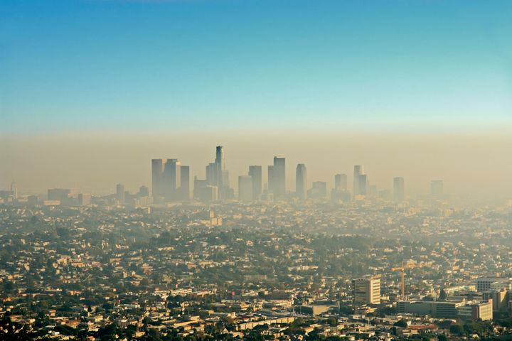 Smog over Los Angeles. While the Clean Air Act has accomplished huge amounts, there is still work to do.