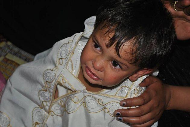 La circoncision des enfants