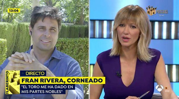 Fran Rivera, en 'Espejo Público' (Antena 3):