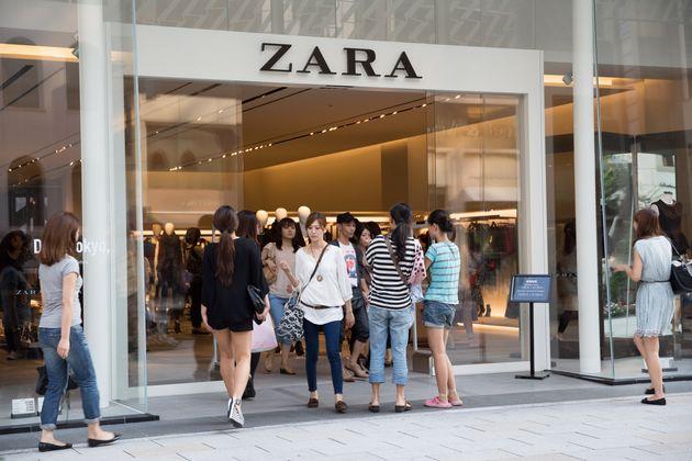 Zara lance sa plateforme de vente en ligne au