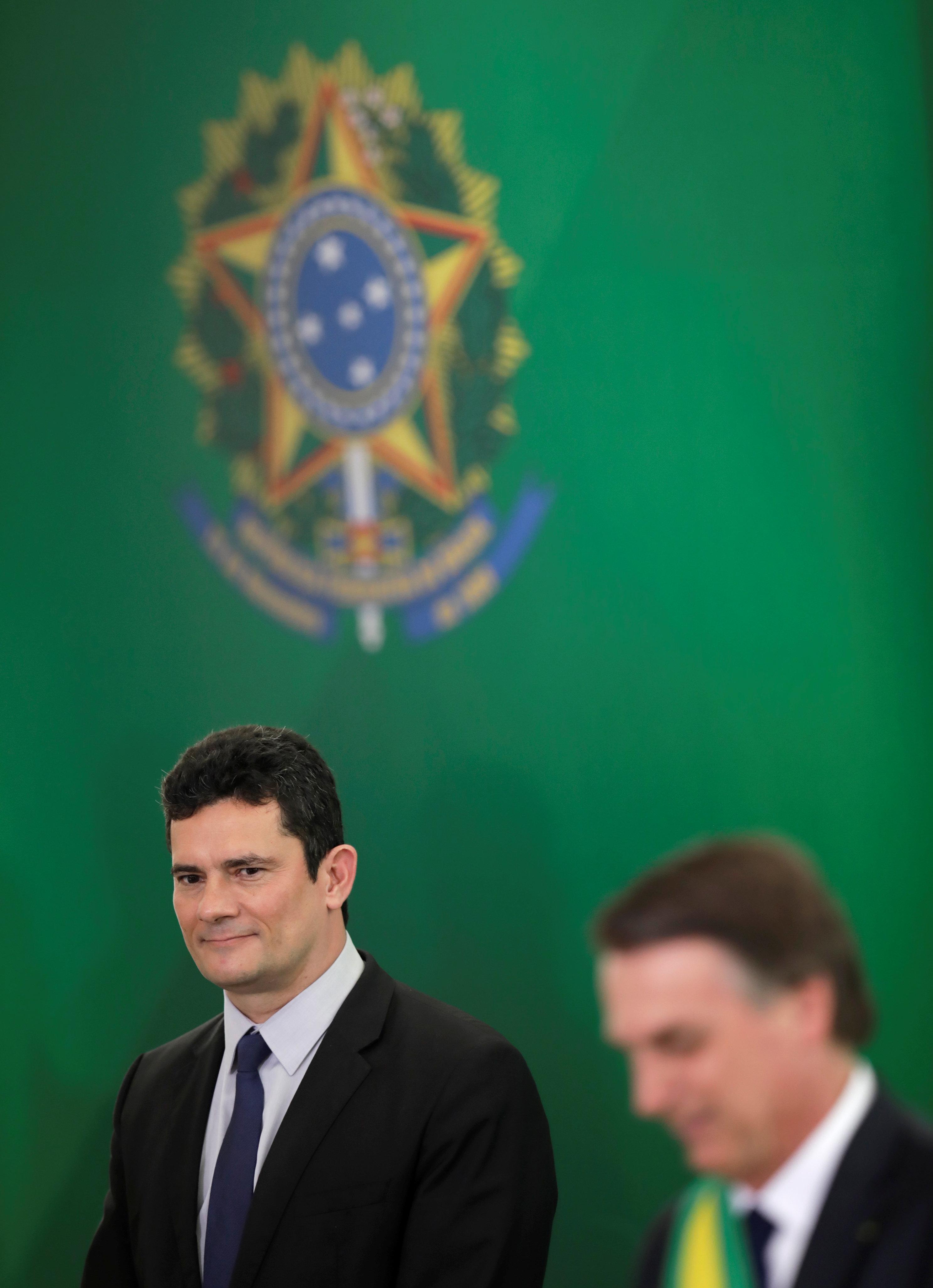 Moro contraria Bolsonaro e diz que não estabeleceu condição para assumir