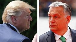 Trump benedice Orban, tra le proteste in