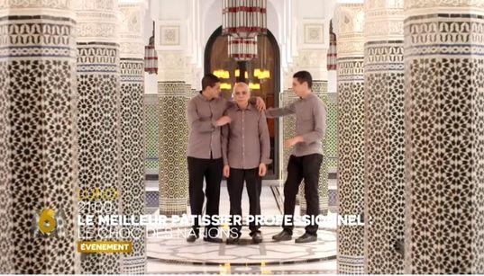 """La Mamounia représente le Maroc dans """"Le Meilleur pâtissier, Le choc des nations"""", ce soir sur"""