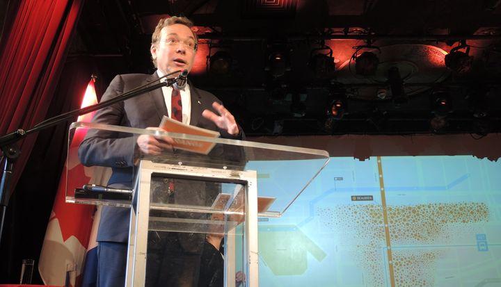 Philippe Schnobb, président de la STM.
