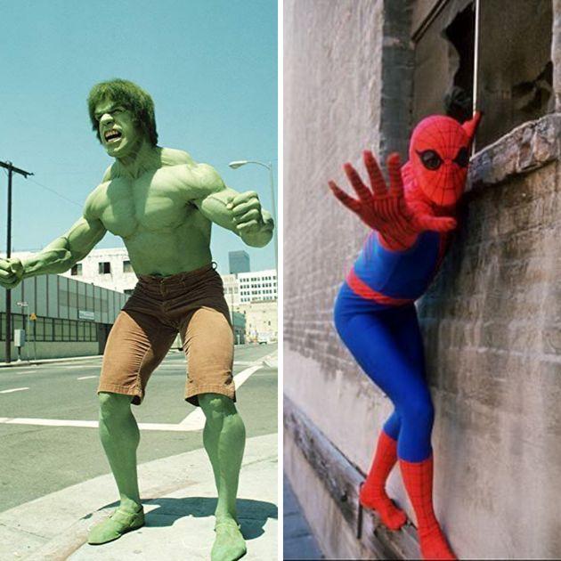 Hulk e Homem-Aranha também ganharam álbuns especiais nos anos