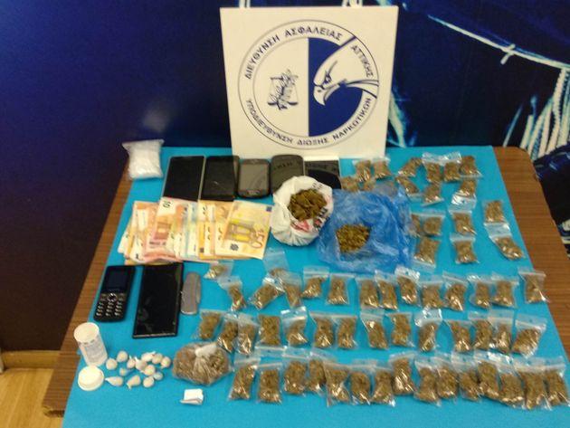 Επτά συλλήψεις σε επιχειρήσεις της ΕΛ.ΑΣ για ναρκωτικά σε Εξάρχεια και