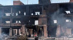 Hallado un cadáver tras el incendio de un edificio okupa en
