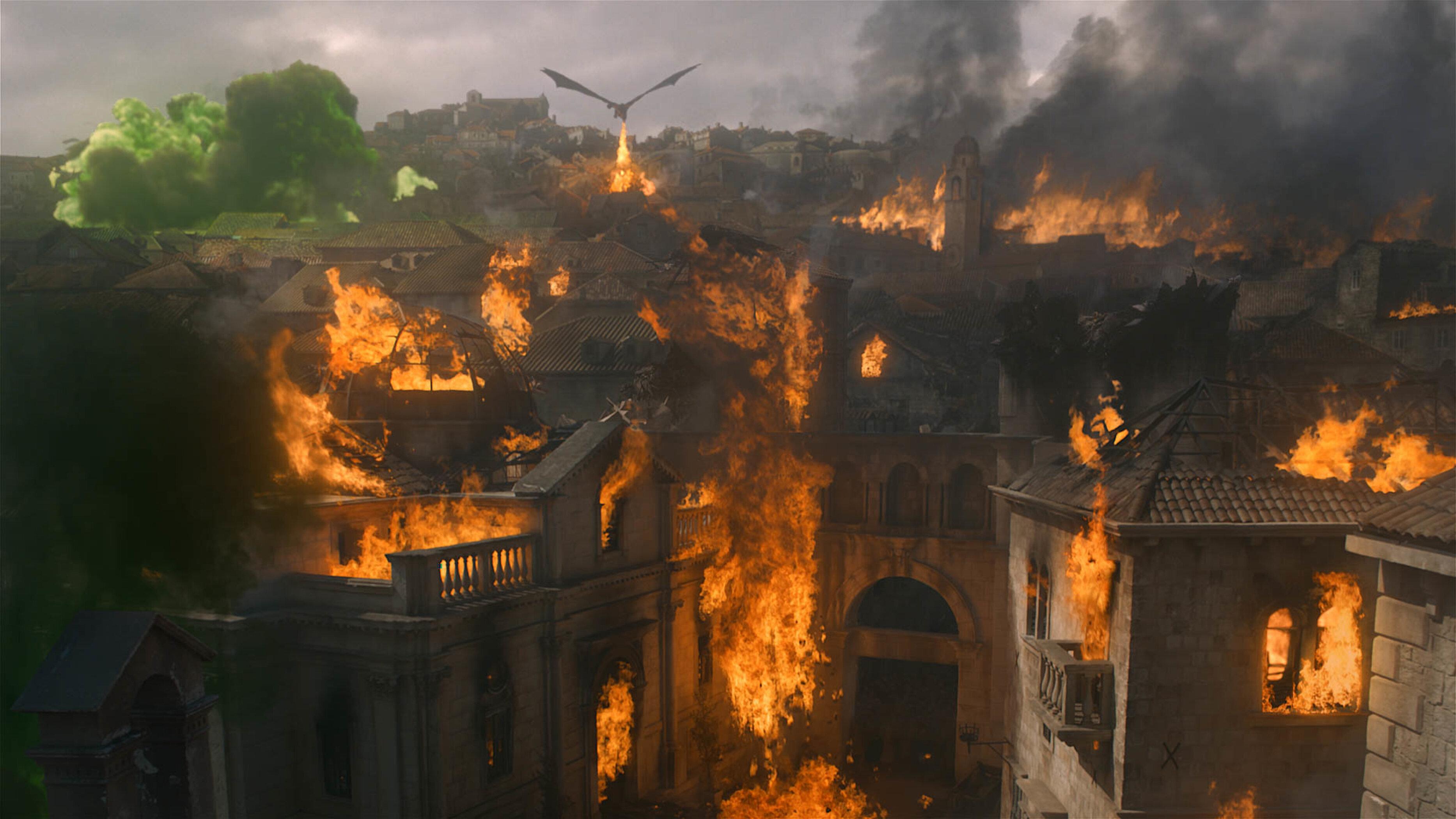 Utter destruction in King's Landing.