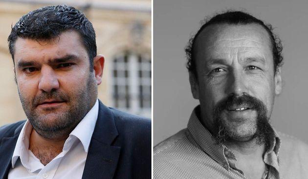 Européennes: Jérémy Decerle, Benoît Biteau, deux visions de l'agriculture en