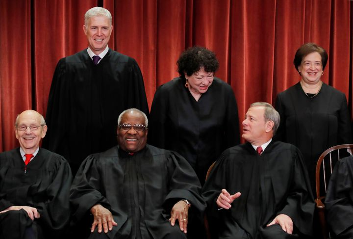 Justice Stephen Breyer, far left, is a frequent critic of the death penalty.