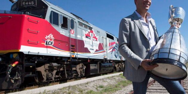 Grey Cup Train Tour Helps CFL Mark 100 Anniversary Of Cup In