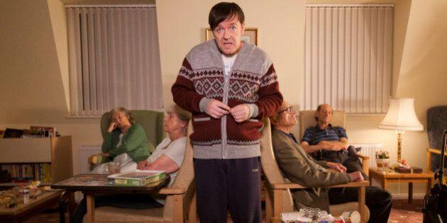Ricky Gervais On Netflix's 'Derek': Like You've Never Seen Him