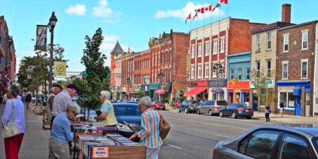 Downtown Stratford, Ontario,