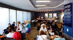 Porter Airline's Lounge Makes Its Stateside
