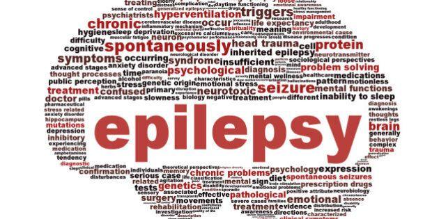 epilepsy symbol isolated on...