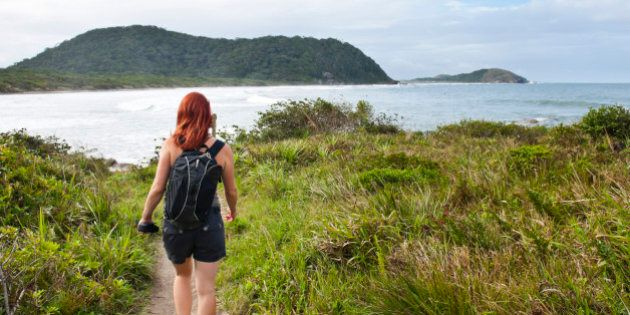 Backpacking Taught Me I Don't Need Makeup to Be