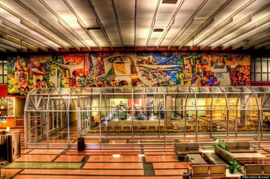 Take A Gander At This 'Endangered' Retro Airport (VIDEO,