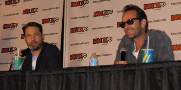 Fan Expo 2013 Day 1 & 2: Jason Priestley, Luke Perry