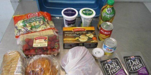 Saskatoon Food Basket Challenge: Residents Live Off Food Basket For A