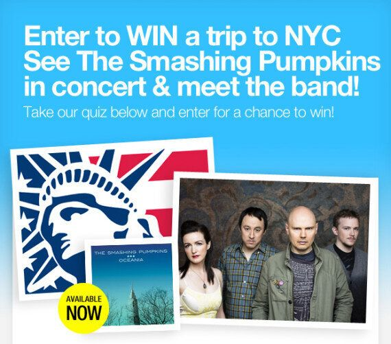 Smashing Pumpkins Contest: Win a Trip to NYC to Meet Billy Corgan, Watch Alt-Rock Icons