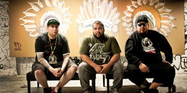 A Tribe Called Red Want White Fans To 'Please Stop' Wearing Redface 'Indian' Costumes To