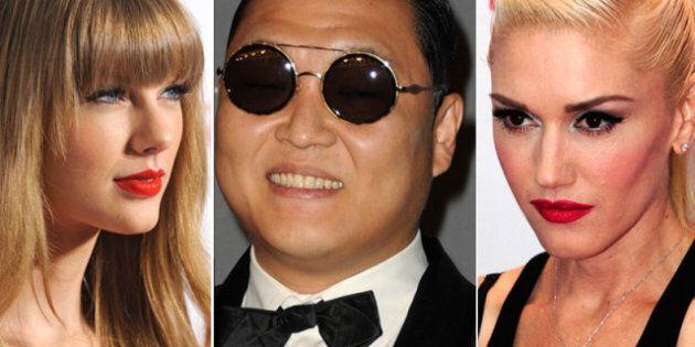 Pop Power Rankings: Taylor Hangs Tough, Psy Still Soars, No Doubt Bottoms