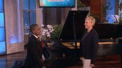 Montreal Pianist Blows 'Ellen'