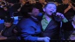 WATCH: Drunk Fan Crashes Stage At Toronto Jazz Club, Won't