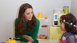 Kate Visits Children's