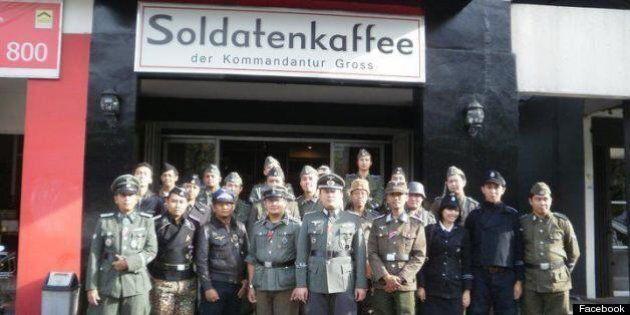 Soldatenkaffee, Nazi-Themed Cafe, Sparks Outage Among