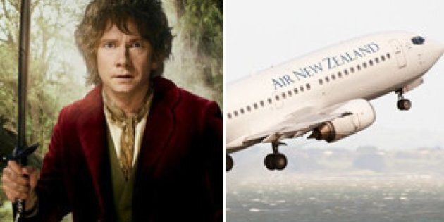 Air New Zealand To Unveil Hobbit-Themed Plane For Upcoming Lord Of The Ring