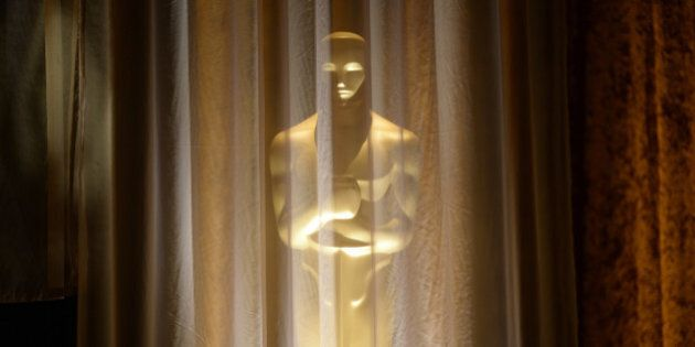 An Oscar statue is seen at the 2013 Governors Awards, presented by the American Academy of Motion Picture...