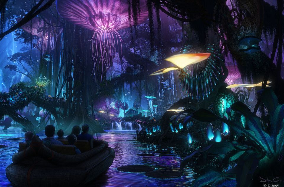 Disney World's 'Avatar' Theme Park Set To Open In Disney's Animal