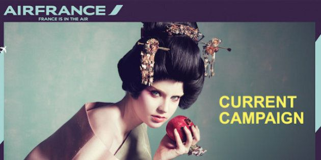Air France's Ads Blasted As 'Racist', Twitter Responds With