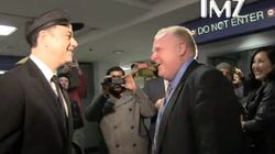 WATCH: Rob Ford Circus Lands in Los