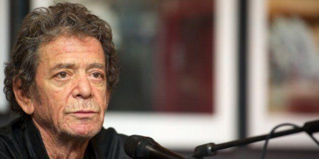 MADRID, SPAIN - NOVEMBER 16: Lou Reed presents his photography exhibition at the Matadero cultural center...