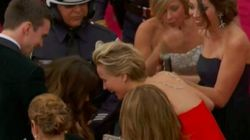People Think JLaw Fell At The Oscars On