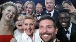 Ellen's Oscar Selfie Is The Most Popular Tweet Of All