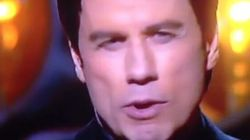John Travolta Messes Up Idina Menzel's