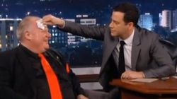 WATCH: Rob Ford Gets Burned By Jimmy Kimmel Over And Over