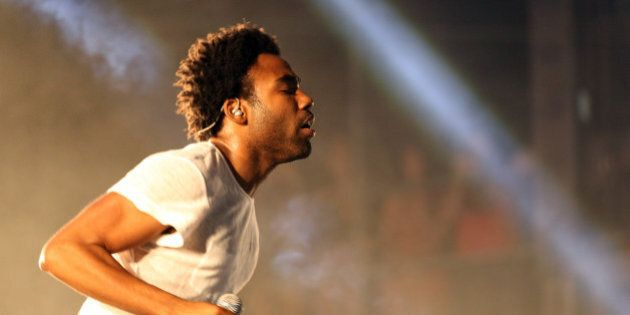 LAS VEGAS, NV - OCTOBER 26: Rapper Childish Gambino attends day 1 of the Life Is Beautiful Festival on...