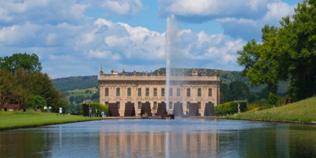 Chatsworth House, Derbyshire, Peak District, England, UK
