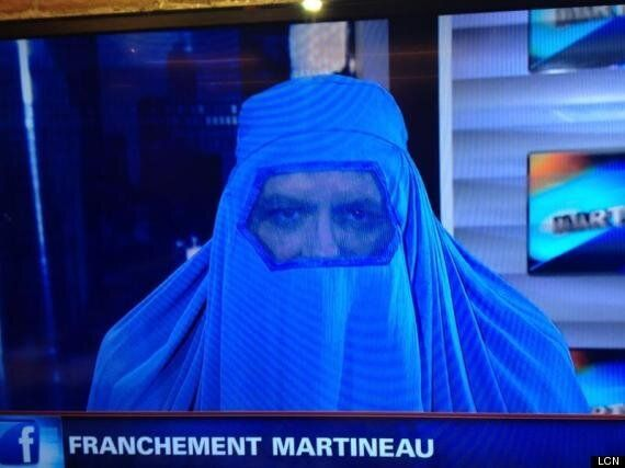 Quebec Host Richard Martineau Thought Wearing A Burqa On Air Was A Good